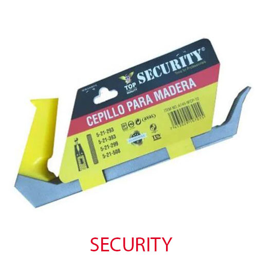 Cepillo Para Carpintero. A145-9FCP-10. Marca: SECURITY